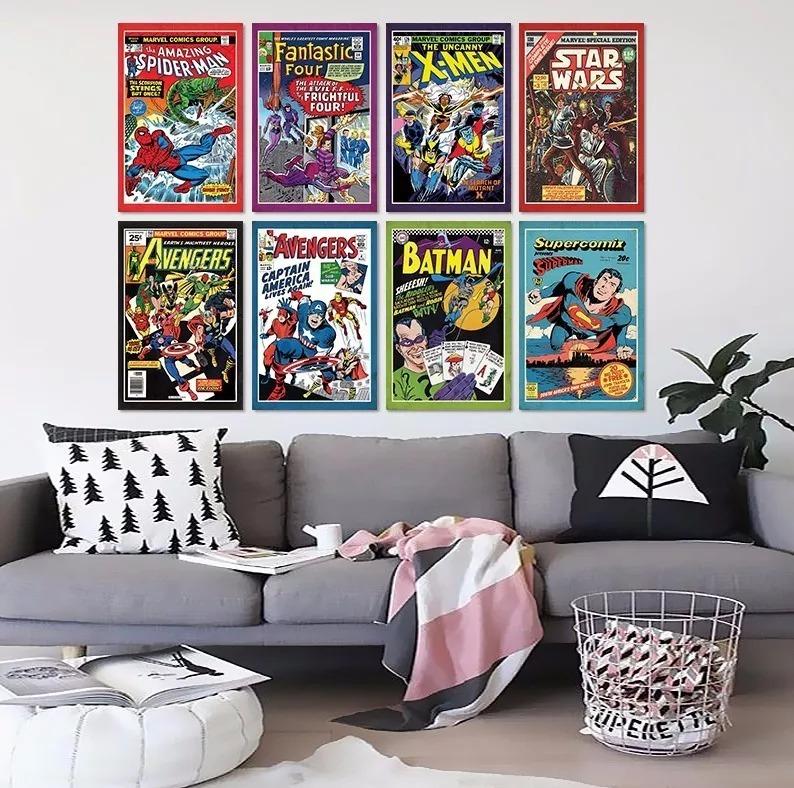 3 Cuadros Decorativos Mdf 20x30 Retro - Comics Vintage - $ 60.000 en ...