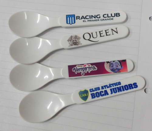 3 cuchara polímero personalizada consultar por cantidad