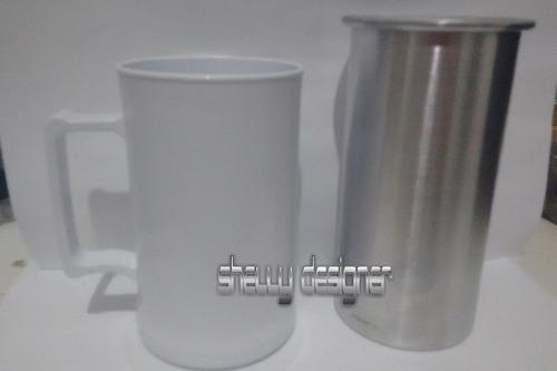 3 culote+copo resinado/acrilico+transfer+manta subli e laser
