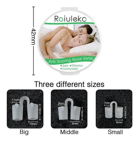 3 dilatadores nasales confort ronquidos abre nariz respira