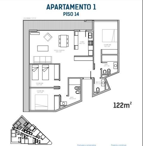3 dormitorios | avda roosevelt