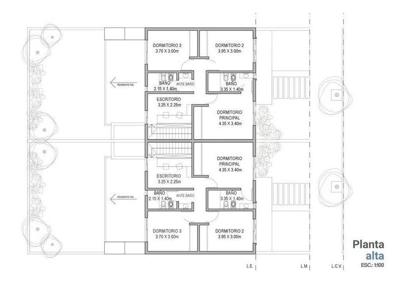 3 dormitorios   cochera   patio