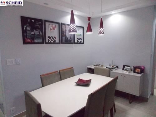 3 dormitórios, sala com sacada, 2 banheiros, armários em todos dormitórios e cozinha - mr55156