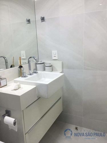 3 dormitórios,  suite e 2 vagas, 82 útil, próximo ao metrô ana rosa - bi22719