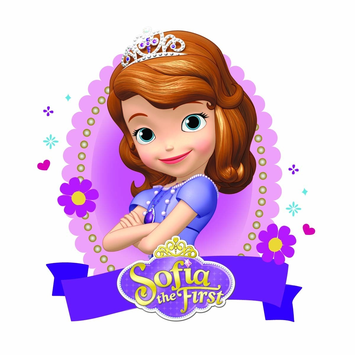 3 Elipse Sofia + Coroa + Mickey 60cm. Envio 48hrs