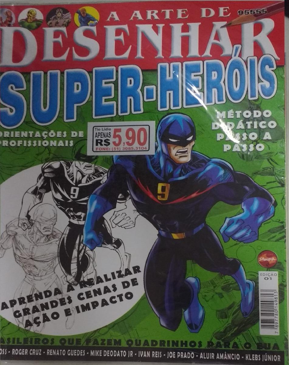 3 Em 1 Metodo De Desenho Manga Super Herois R 15 00 Em