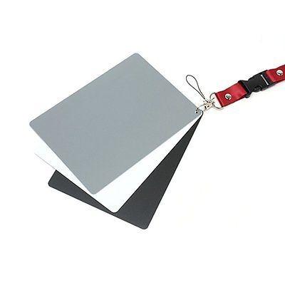 3 en 1 digital tarjeta gris blanco negro y balance de blanco