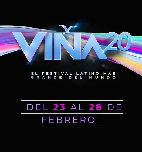 3 entradas festival de viña 2020 (lunes 24 de febrero) c/u