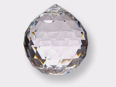 fa5c7791dcb 3 Esferas Bolas De Cristal Multifacetada Feng Shui 40 Mm - R  120