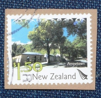3 estampillas new zealand nueva zelandia health arrowtown