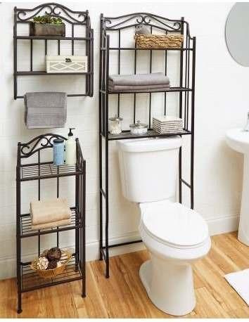 3 estantes para ba o paquete muebles decoraci n bronze xt c 6 en mercado libre - Estantes para banos ...