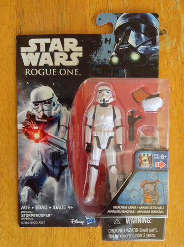 3 figuras star wars rogue one stormtrooper 3 3/4 1.75