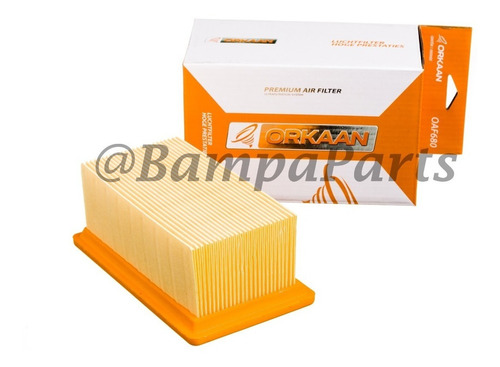 3 filtro de ar orkaan bmw f800 gs f800gs oaf680 promocao