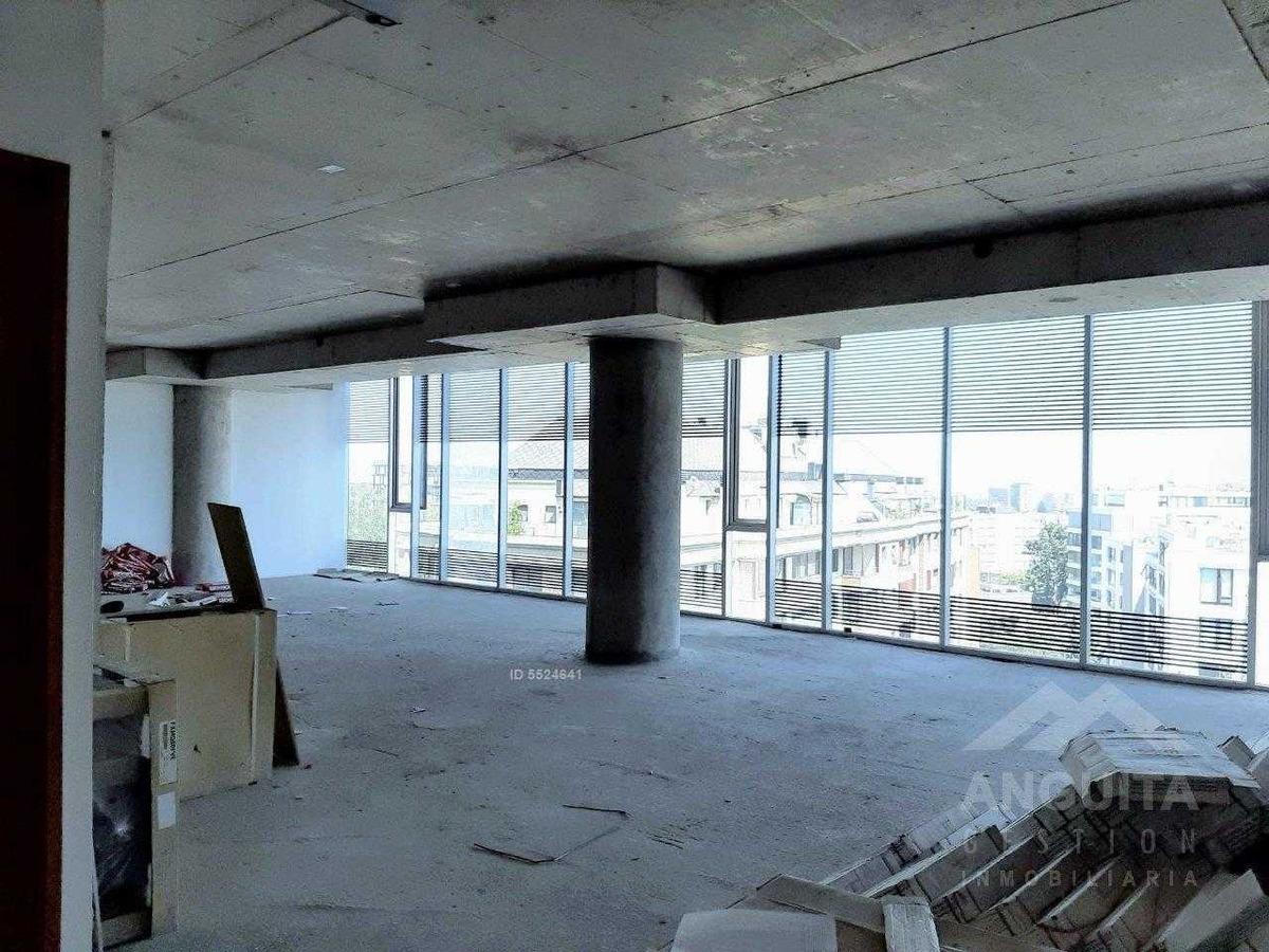 3 finas oficinas en planta libre. apoquindo