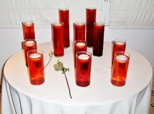 3 floreros cilindros de 10cm x 20,30,40 de alto en 3 medidas