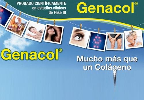3 frascos de genacol colageno proteina aminoacidos artrosis