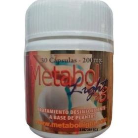 3 Frascos De Metabol Light X30