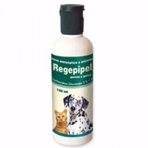 3 frascos regepipel shampoo anti micotico perro envio gratis