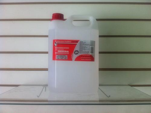 3 galões de 5 litros de silicone líquido para esteira ergom.