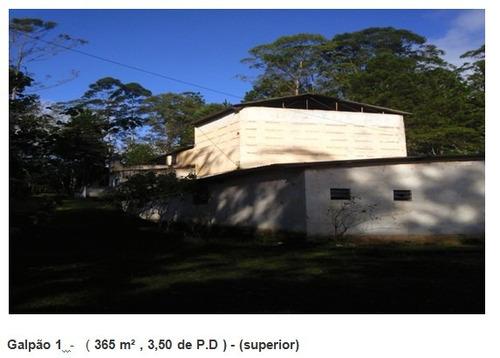 3 galpões totalizando 900m2 construídos -- elaine 14539