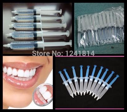 3 Gel Clareador Dentes Brancos Clareamento Dental Seringa 3m R