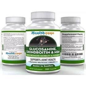 3 Glucosamina 1500 Condroitina 1200 M S M - Total 750 Cáps.