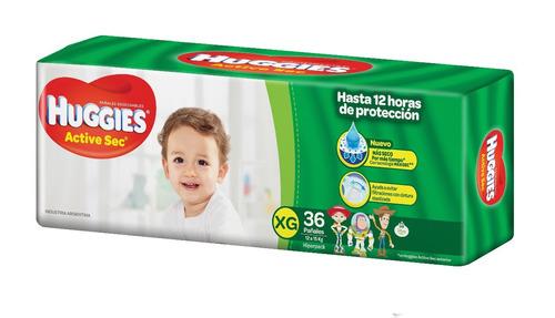 3 hiperpacks huggies active sec verde -  aguanta!!!