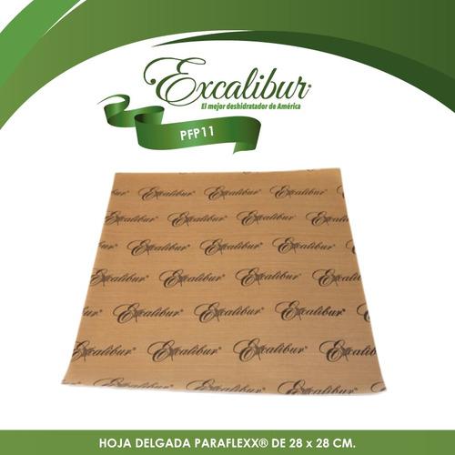 3 hojas para deshidratador 4 charolas excalibur pfp11