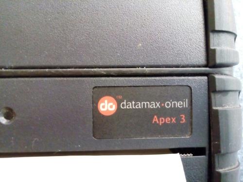 3 impresoras para partes extech datamax