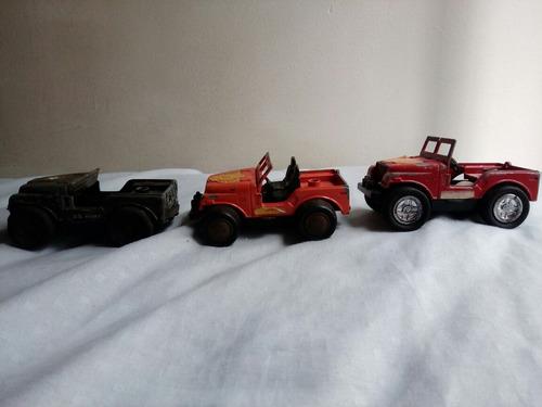3 jeep bufalo para restaurar