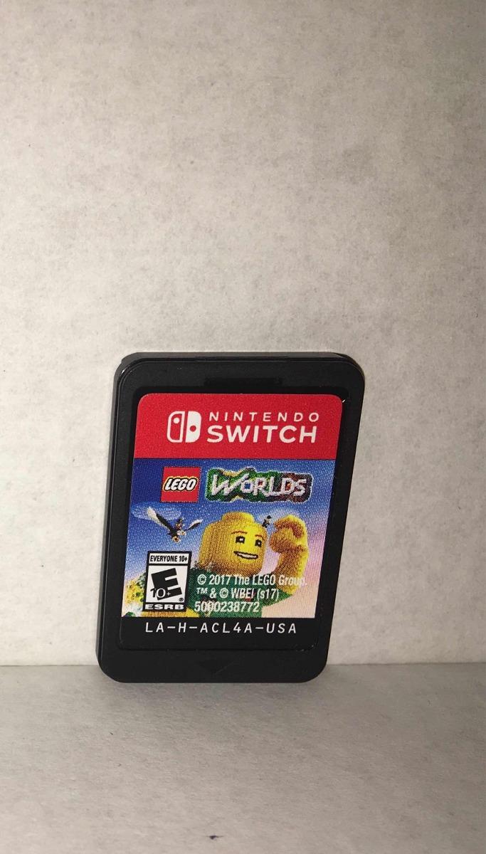 3 Juegos De Nintendo Switch Cars Lego World Y Lego City 2 700