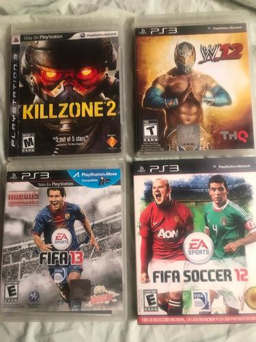 3 juegos de playstation 3 ps3