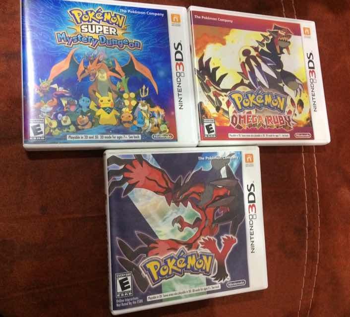 3 Juegos Pokemon Para Nintendo 3ds 1 298 00 En Mercado Libre