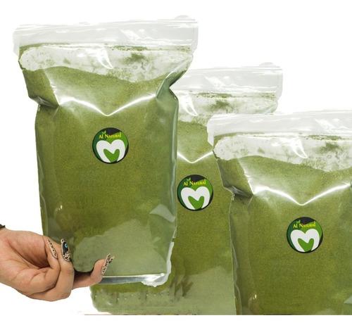 3 kilos de moringa, en polvo organica - la purisima -