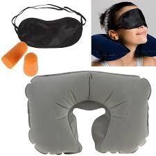 3 kit de almohadas inflable de 3 piezas promocion