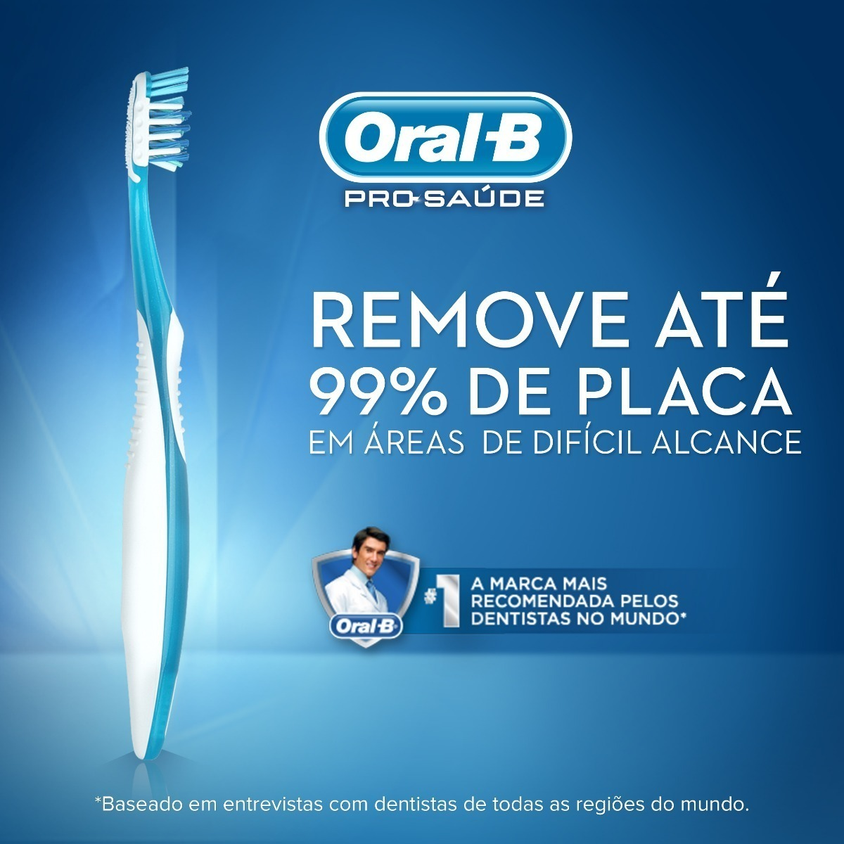 589cd059f 3 Kit Escova Dental Oral B Antibacteriana Macia 40 - R$ 45,99 em ...