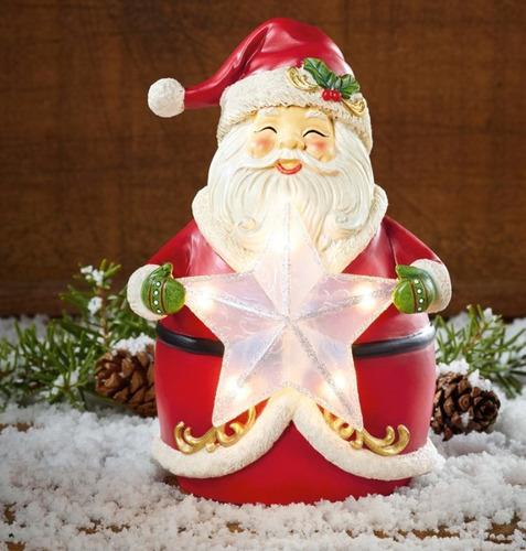 3 lámparas de noche  navidad santa muñeco de nieve y reno