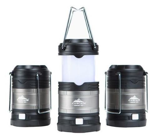 3 lamparas emergencia  mini linternas 180 lumens multi color
