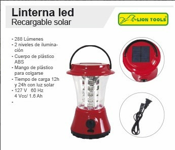 3 lamparas tempestad 8861 36 leds recargable solar 288 lumen