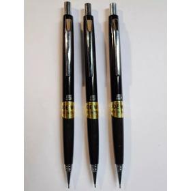 3 Lapices Mecánicos Portaminas + Tubo C /12 Minas 0.5mm Imp