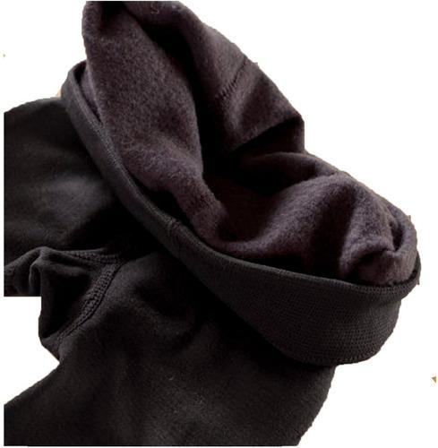 3 leggins invierno pantalon termico combo x3 negro gris cafe