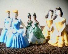 3 lembrancinhas   princesas  disney   principe    biscuit