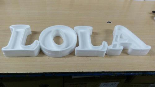3 letras 1 figura huecas corpóreas rellenar polyfan belgrano