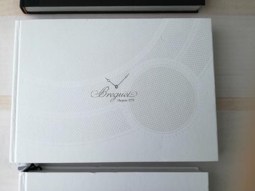 3 libros de alta relojería: breguet + vacheron + iwc