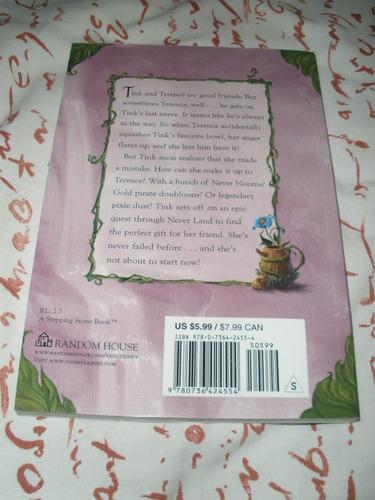 3 libros de campanita tinkerbell en ingles.  nuevos