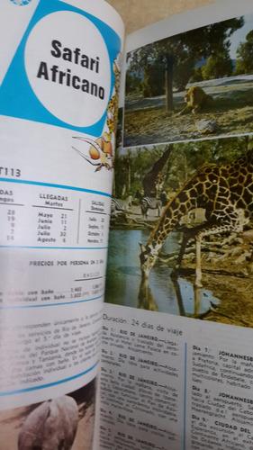 3 libros, divulgación turistica, 60, 70 y 80
