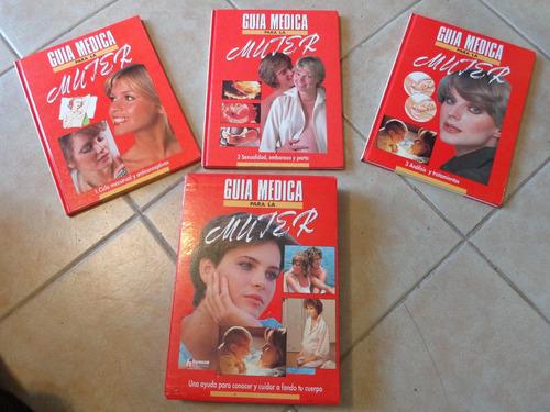 3 libros guía médica de la salud para la mujer! sexualidad !