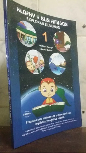 3 libros - klofky sus amigos, sonidos y letras, guia pra doc