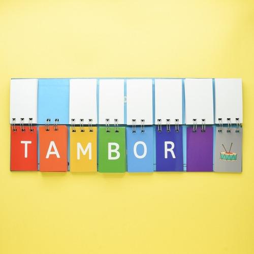 3 libros móviles: letras + silabas de 3 + silabas de 4