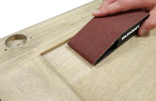 3 lijas de banda 2.5 x 16 65x410mm grano 150 1616 carpintero